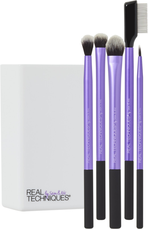 eye brushes real techniques