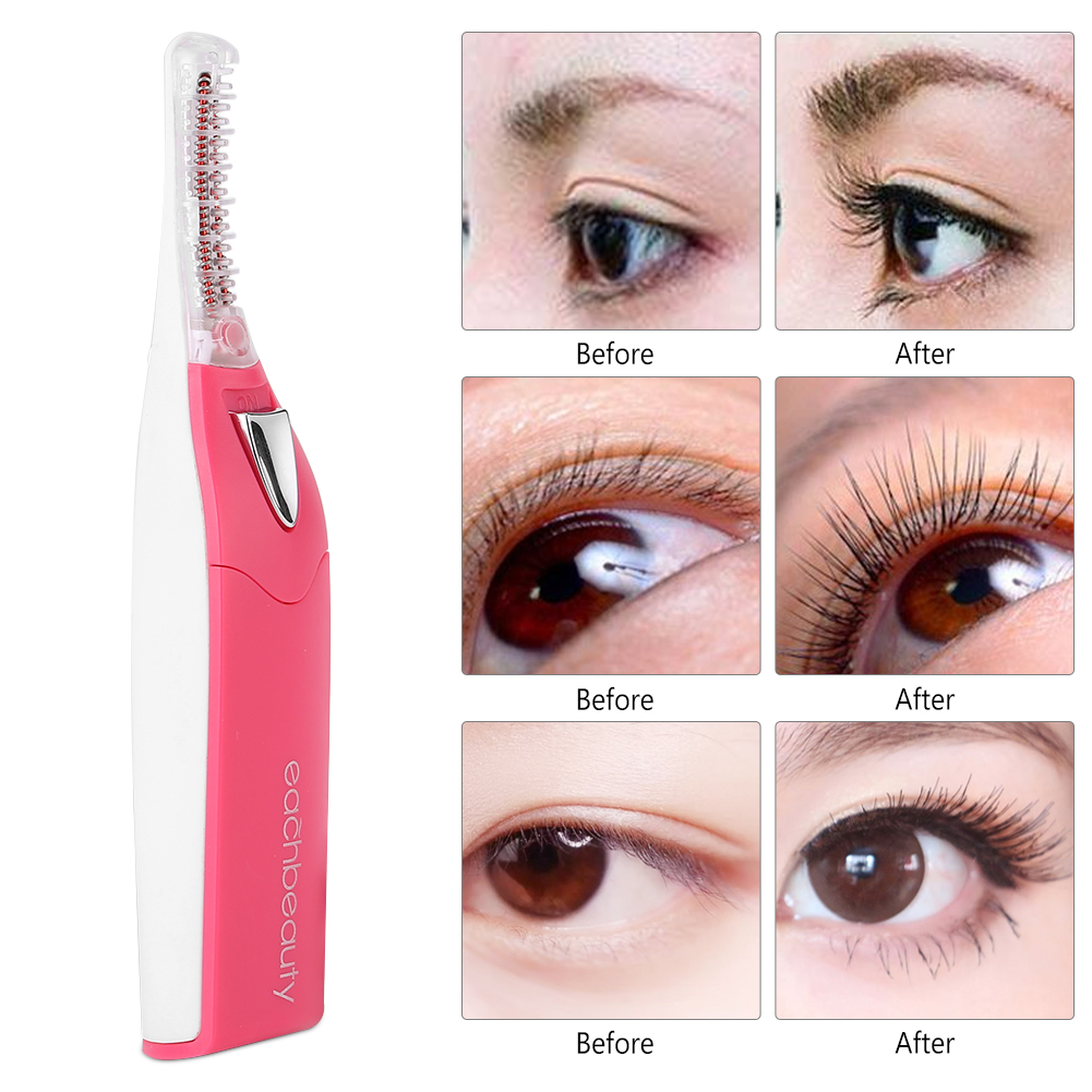 eyelash curlers heated