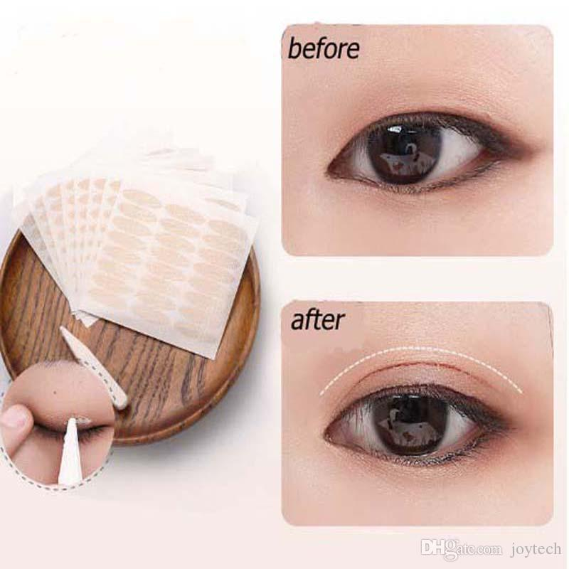 eyelid tape with makeup