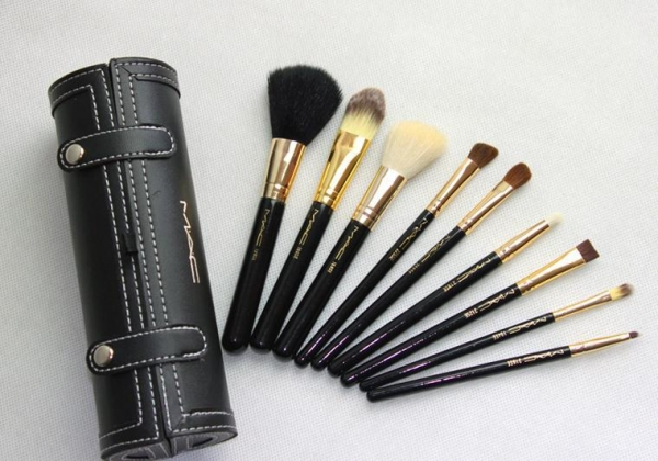 mac makeup brush set